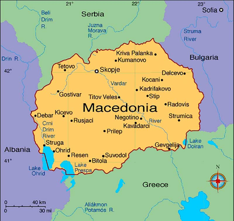Basic info about Macedonia