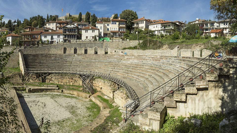 Охрид Охрид Охрид ohrid anticki teatar