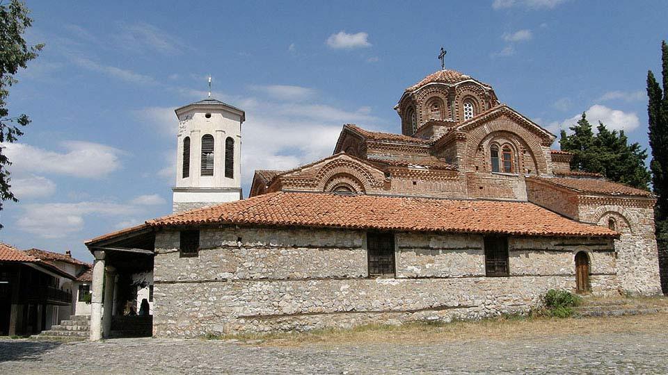 Охрид Охрид Охрид ohrid crkva sv bogorodica perivlepta
