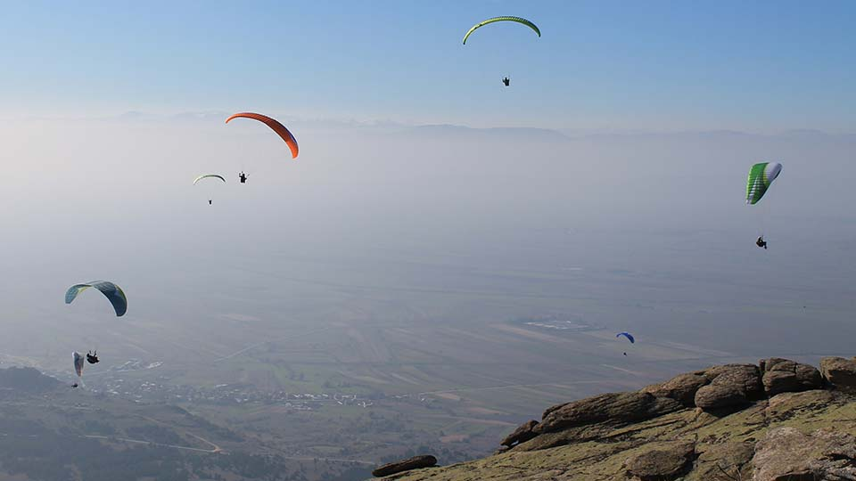 Paragliding on Macedonian sky - Krusevo