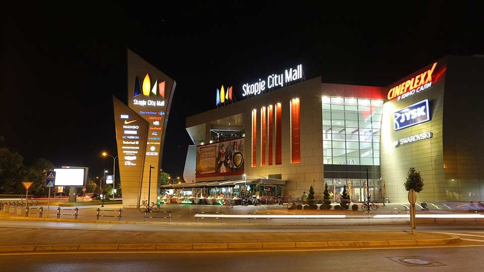 Soping centri Skopje City Mall