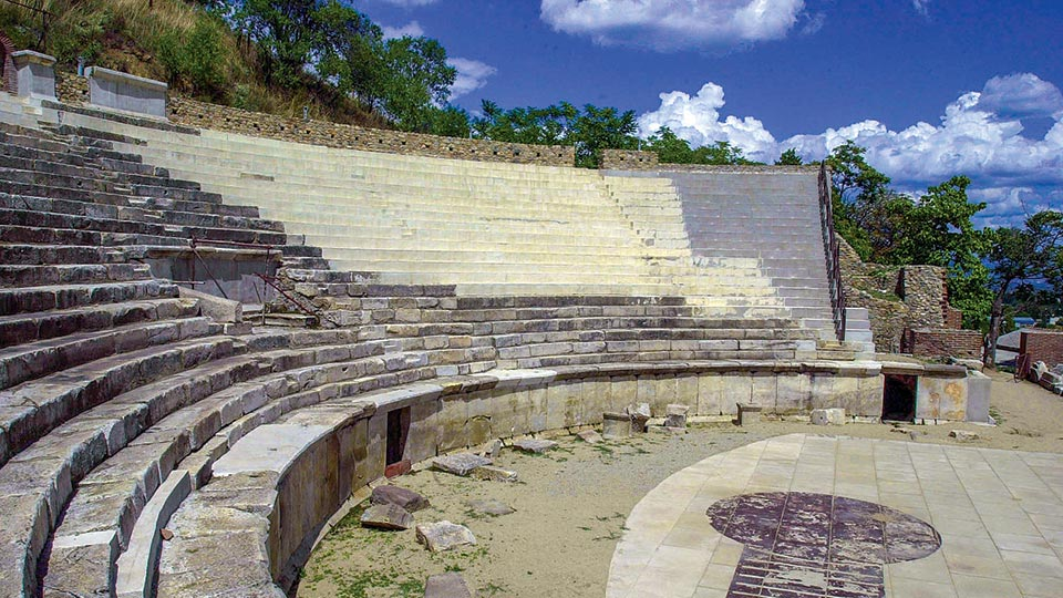 Heraclea Lyncestis ancient theater