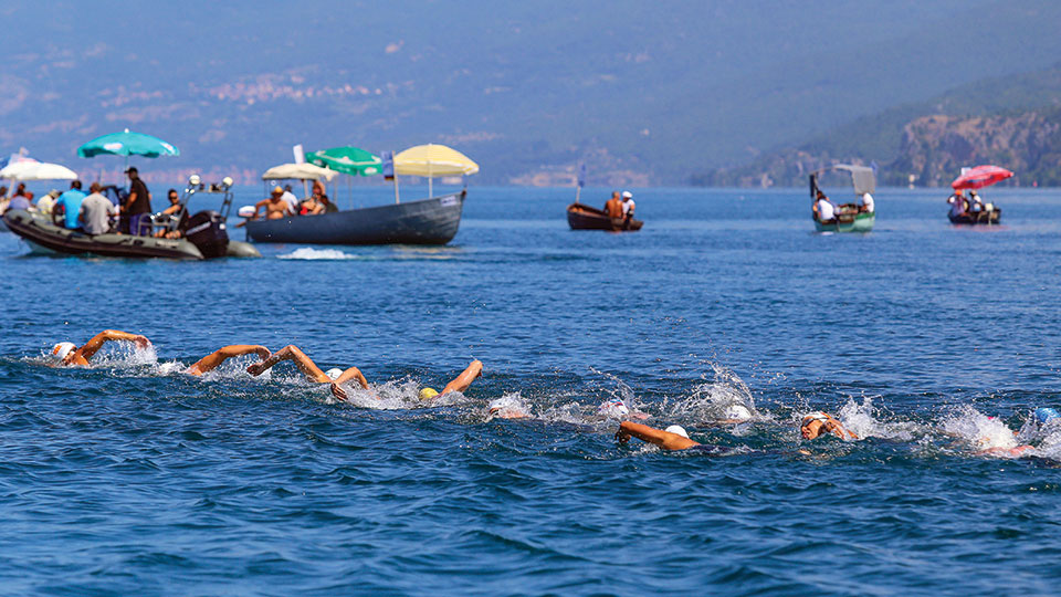 Ohrid Lake Swimming competitions