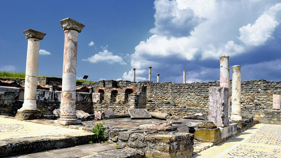 Archaeological site Stobi